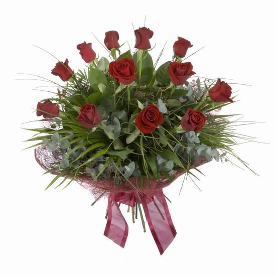 Etkileyici buket 11 adet kirmizi gül buketi  Gaziantep güvenli kaliteli hızlı çiçek