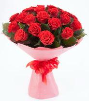 12 adet kırmızı gül buketi  Gaziantep kaliteli taze ve ucuz çiçekler
