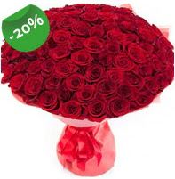 Özel mi Özel buket 101 adet kırmızı gül  Gaziantep çiçek satışı