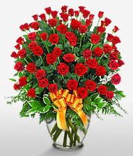 Görsel vazo içerisinde 101 adet gül  Gaziantep çiçek gönderme sitemiz güvenlidir