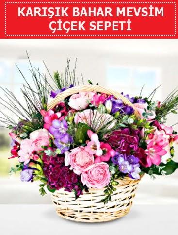 Karışık mevsim bahar çiçekleri  Gaziantep çiçek online çiçek siparişi