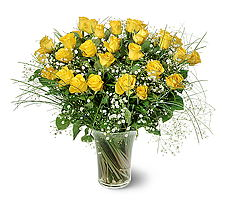 Gaziantep kaliteli taze ve ucuz çiçekler  15 adet sarigül mika yada cam vazoda