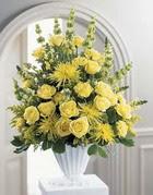 Gaziantep kaliteli taze ve ucuz çiçekler  sari güllerden sebboy tanzim çiçek siparisi