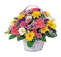 Gaziantep hediye sevgilime hediye çiçek  mevsim çiçekleri sepeti özel
