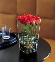 Gaziantep çiçek online çiçek siparişi  kare mika yada cam vazo renkligül tanzim