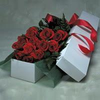 Gaziantep İnternetten çiçek siparişi  11 adet gülden kutu