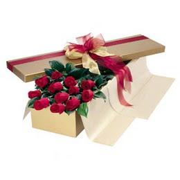 Gaziantep çiçek yolla  10 adet kutu özel kutu