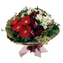 Gaziantep çiçekçi telefonları  gerbera ve mevsim demeti