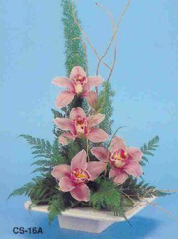 Gaziantep 14 şubat sevgililer günü çiçek  vazoda 4 adet orkide