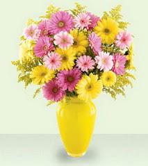 Gaziantep çiçek yolla  cam yada mika vazoda kir çiçekleri özel