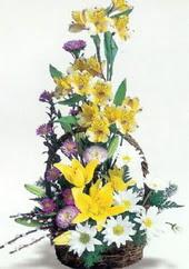 Gaziantep çiçek gönderme  Sepette mevsim çiçekleri