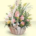Gaziantep çiçekçi telefonları  sepette pembe güller