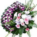 Cenaze çiçekleri son yolculuk  tabut üstü model cenaze çelenk