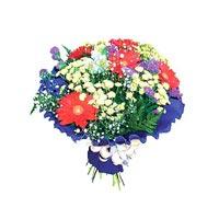 karisik kir çiçegi demeti   Gaziantep hediye sevgilime hediye çiçek