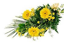 sari gerbera ve sari çiçek   Gaziantep online çiçek gönderme sipariş
