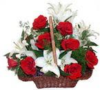 sepette gül ve kazablankalar   Gaziantep çiçek mağazası , çiçekçi adresleri