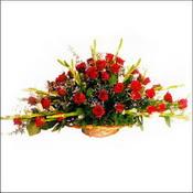 Gaziantep çiçek mağazası , çiçekçi adresleri  sepette 51 kirmizi gül