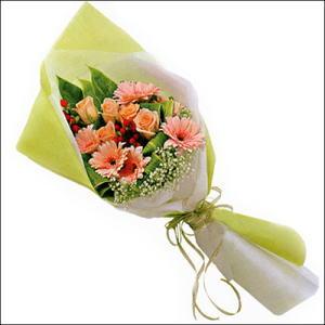 sade güllü buket demeti  Gaziantep çiçek mağazası , çiçekçi adresleri