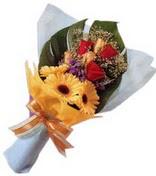güller ve gerbera çiçekleri   Gaziantep cicek , cicekci