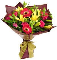 karisik mevsim buketi - anneser günü için ideal seçim -  Gaziantep güvenli kaliteli hızlı çiçek