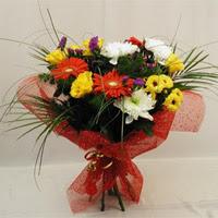 Gaziantep çiçek servisi , çiçekçi adresleri  Karisik mevsim demeti
