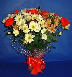 Gaziantep çiçek servisi , çiçekçi adresleri  kir çiçekleri buketi mevsim demeti halinde