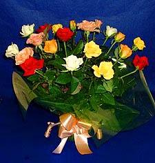Gaziantep çiçek servisi , çiçekçi adresleri  13 adet karisik renkli güller