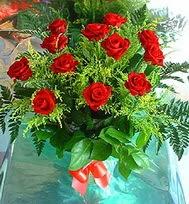 12 adet gül buketi  Gaziantep çiçek satışı