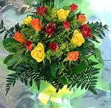 13 adet karisik gül buketi demeti   Gaziantep çiçek gönderme