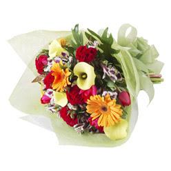 karisik mevsim buketi   Gaziantep internetten çiçek siparişi