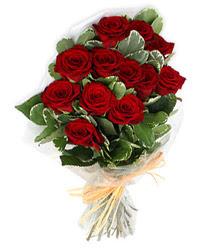 Gaziantep çiçek siparişi vermek  9 lu kirmizi gül buketi.