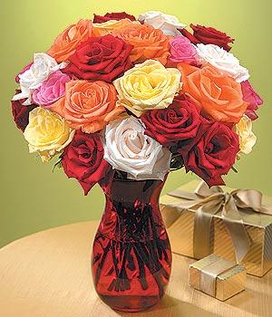 Gaziantep çiçek satışı  13 adet renkli gül