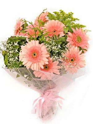Gaziantep anneler günü çiçek yolla  11 adet gerbera çiçegi buketi