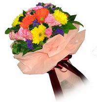 Gaziantep çiçek mağazası , çiçekçi adresleri  Karisik mevsim çiçeklerinden demet