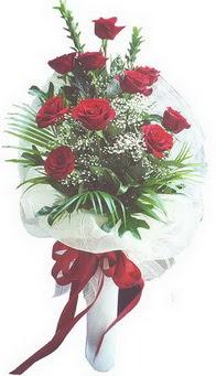 Gaziantep çiçek servisi , çiçekçi adresleri  10 adet kirmizi gülden buket tanzimi özel anlara