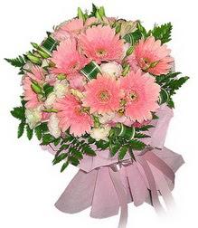 Gaziantep çiçek yolla  Karisik mevsim çiçeklerinden demet