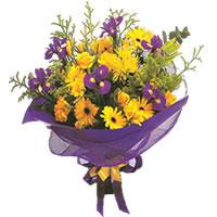 Gaziantep cicek , cicekci  Karisik mevsim demeti karisik çiçekler