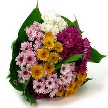 Gaziantep 14 şubat sevgililer günü çiçek  Karisik kir çiçekleri demeti herkeze
