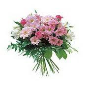 karisik kir çiçek demeti  Gaziantep anneler günü çiçek yolla