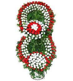 Görsel Cenaze çiçek , cenaze çiçek , çelengi  Gaziantep çiçek gönderme