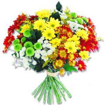 Kir çiçeklerinden buket modeli  Gaziantep İnternetten çiçek siparişi