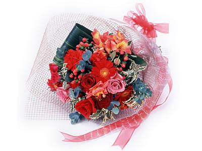Karisik buket çiçek modeli sevilenlere  Gaziantep çiçek gönderme