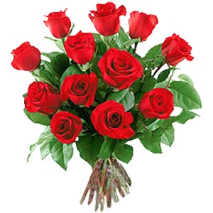 11 adet bakara kirmizi gül buketi  Gaziantep internetten çiçek satışı