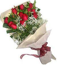 11 adet kirmizi güllerden özel buket  Gaziantep online çiçekçi , çiçek siparişi