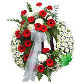 Cenaze çelengi cenaze çiçek modeli  Gaziantep çiçek gönderme