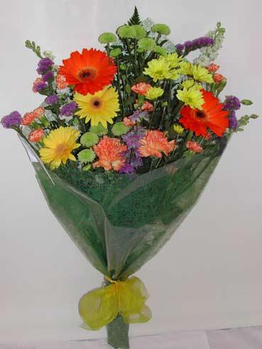 karisik kir çiçek buketi çiçek gönderimi  Gaziantep çiçek yolla