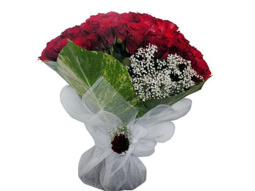 25 adet kirmizi gül görsel çiçek modeli  Gaziantep hediye çiçek yolla