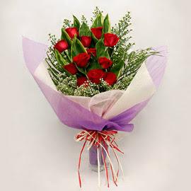 çiçekçi dükkanindan 11 adet gül buket  Gaziantep çiçek mağazası , çiçekçi adresleri
