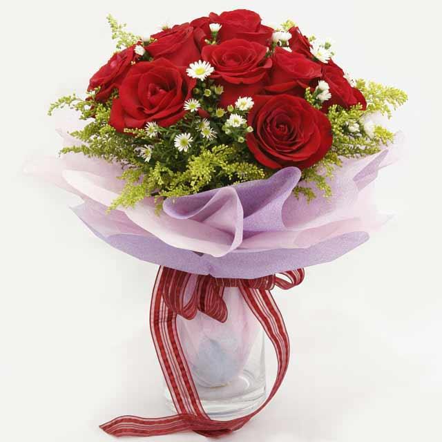 Çiçek gönderme estetikliginiz 11 gül buket  Gaziantep çiçek mağazası , çiçekçi adresleri