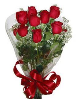 Çiçek sade gül buketi 7 güllü buket  Gaziantep İnternetten çiçek siparişi